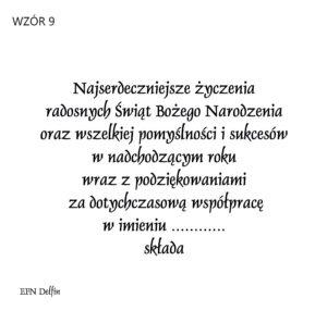 Wzór 9